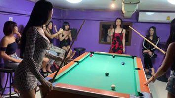 Pool game  #ladyboy  #sexyshemales #shemale #sexyno1 #lovelyladyboy #checkinb…