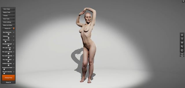 Anatomy 360 Female 01 Pose Pack Product Video
