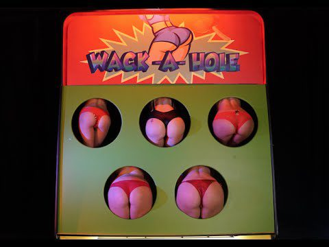 Giant Wack A Mole Arcade Game For Hot Girls Butts.