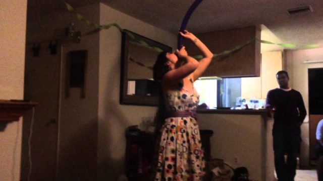Friends Balloon Party Trick