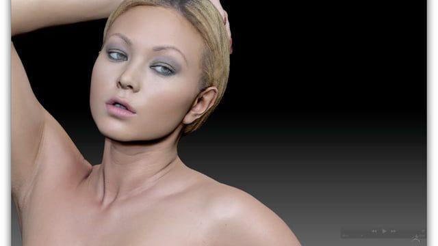 NSFW Photogrammetry Scan Female Nude Figure Study