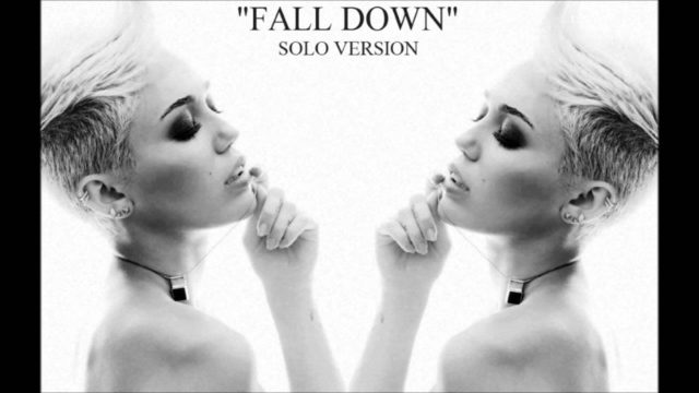 Miley Cyrus (Fall Down) Solo Version