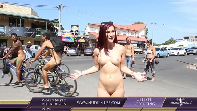 Nude Muse News World Naked Bike Ride 2015 Preview