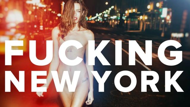 FUCKING NEW YORK: book trailer