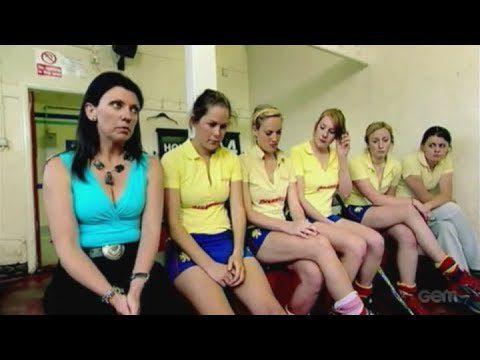 Hockey team undergoes breast exam
