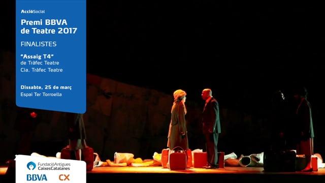 """""""Assaig T4"""", de Tràfec Teatre. Cia. Tràfec Teatre."""
