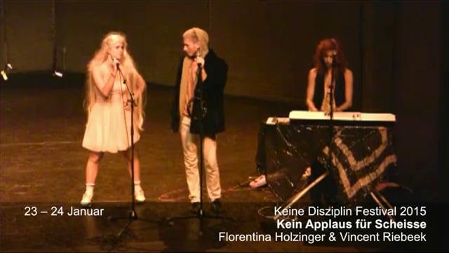 Gessnerallee Zürich: Florentina Holzinger & Vincent Riebeek «Kein Applaus für Scheisse»