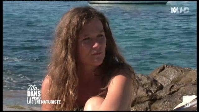 Zita dans la peau d'une naturiste (extrait) Ile du Levant