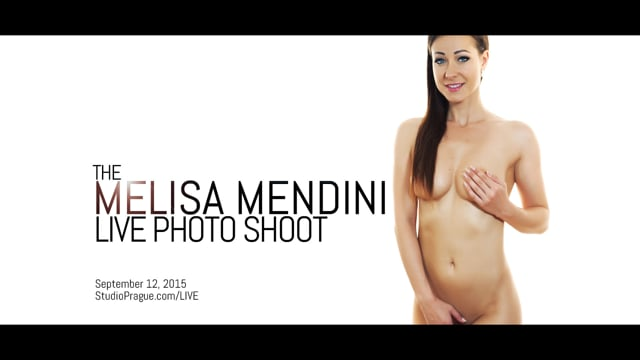 The Mendini Live Shoot – Melisa Mendini Nude Model – Globally Live Streamed Photo Shoot