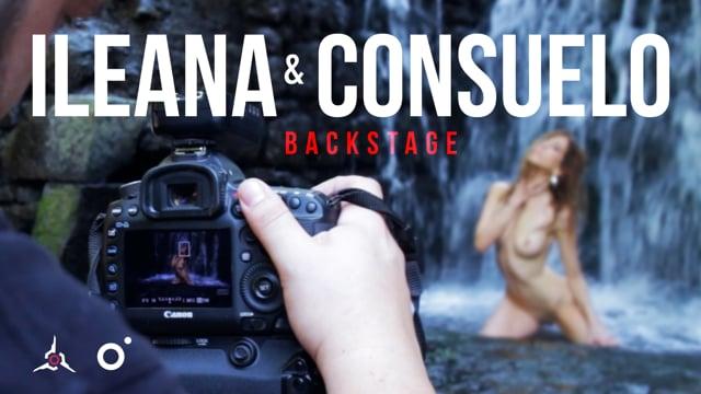 Backstage Ileana & Consuelo – Nude Art