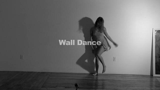 Wall dance Vex Voir – Art modeling with Matthew