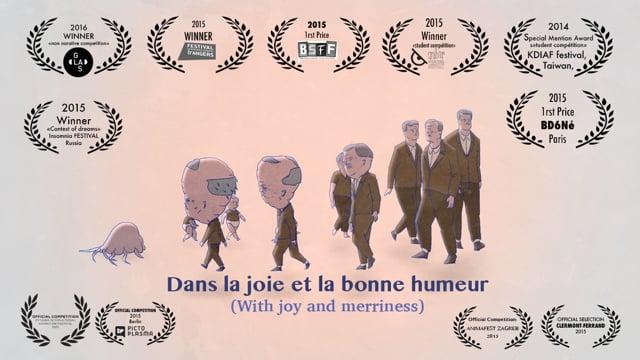 Dans la joie et la bonne humeur/ With joy and merriness