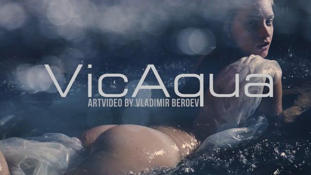 VICAQUA. Art-nude video project by Vladimir Beroev